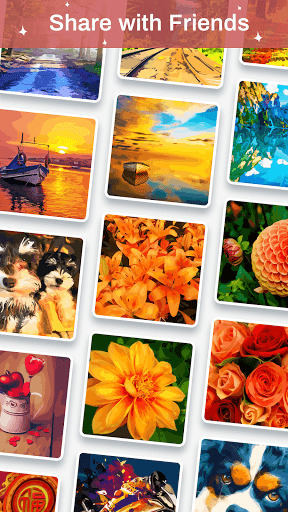 Color Palette - Oil Painting Color by Number android2mod screenshots 5