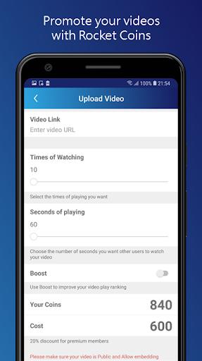 TubeRocket android2mod screenshots 2