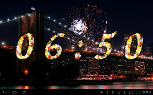 2015 Fireworks Countdown LWP For PC Windows (7, 8, 10, 10X) & Mac Computer Image Number- 7