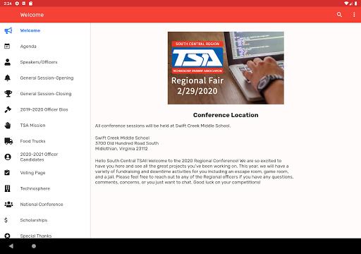 Virginia TSA SC Regional Fair  screenshots 10