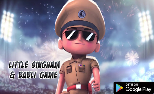 New Little Singham & Babli  Love Police Games 4 screenshots 1