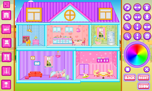 Free Doll House Decoration 2