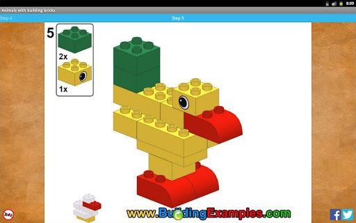 Animals with building bricks  screenshots 9