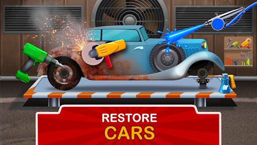 Kids Garage: Car & Truck Repair Games for Kids Fun  screenshots 1