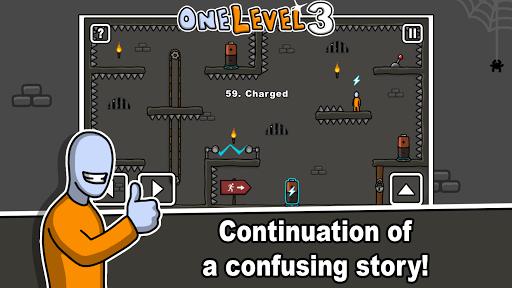 One Level 3: Stickman Jailbreak 1.8 Screenshots 1