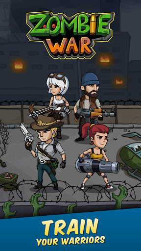 Zombie War: Idle Defense Game 20 screenshots 13
