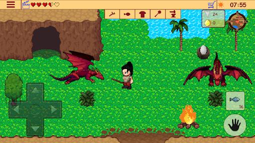 Survival RPG 3: Lost in Time Adventure Retro 2d  screenshots 1
