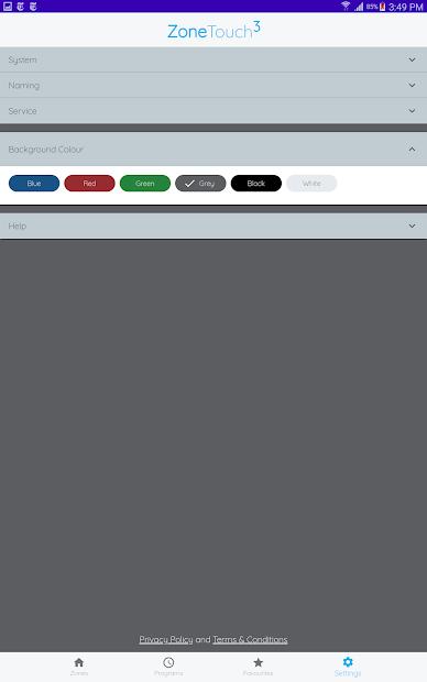 ZoneTouch 3 screenshot 10