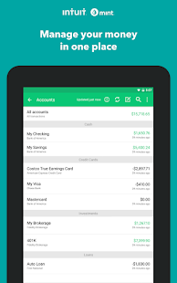 Mint: Budget, Bills, Finance & Tax Refund Tracker Screenshot