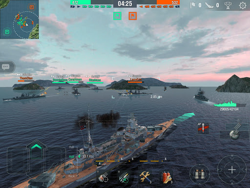 World of Warships Blitz: Gunship Action War Game 4.0.1 Screenshots 12