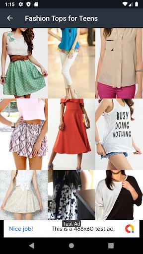 Fashion Tops for Teens Design 2.5.0 screenshots 11