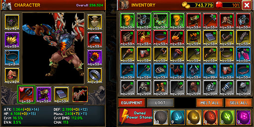 Death Dungeon : Demon Hunting RPG 1.8.74 screenshots 4