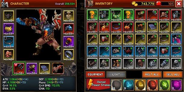 Death Dungeon MOD APK 1.8.79 (Free Shopping) (No Ads) 4