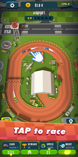 Idle Race Rider — Car tycoon simulator 0.4.16 screenshots 1