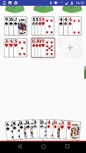 mexe-mexe - jogo de cartas - rummikub com cartas screenshot 3