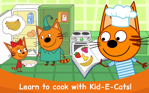 Kid-E-Cats: Cooking for Kids with Three Kittens!  screenshots 21