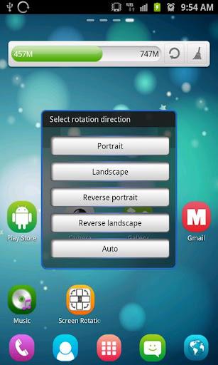 Screen Rotation Control  Screenshots 1