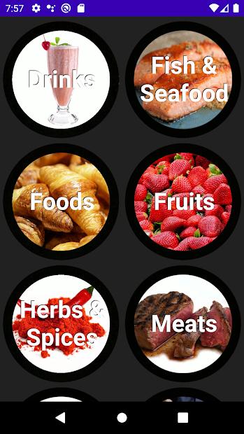 Portuguese Vocabulary screenshot 1