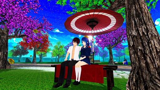 Anime High School Life Days Yandere Girl Simulator screenshots 6