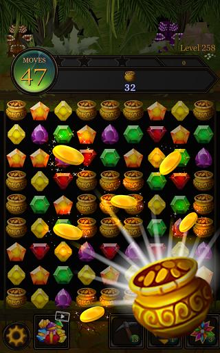 Secret Jungle Pop : Match 3 Jewels Puzzle Apkfinish screenshots 13