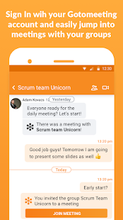 GoToMeeting Business Messenger