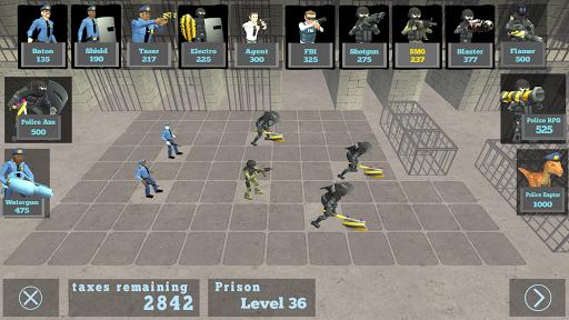 Battle Simulator: Prison & Police apktram screenshots 2