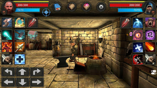Moonshades: dungeon crawler RPG game apktreat screenshots 2