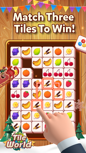Tile World - Fruit Candy Triple Match apkmartins screenshots 1