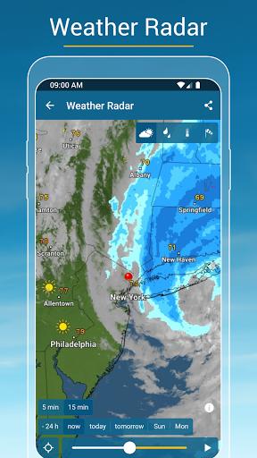 Weather & Radar - Storm radar apktram screenshots 2