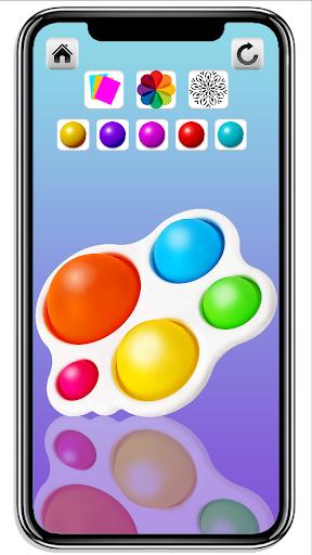 DIY Simple Dimple Pop It Fidget Toys Calming Games  screenshots 14