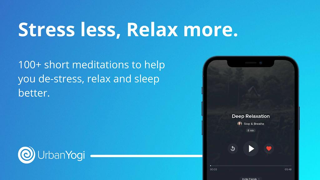 UrbanYogi - Meditate, Sleep & Relax  poster 3