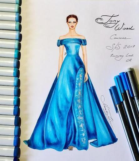 Creative Fashion Design Flat Sketch Ideas  Screenshots 1