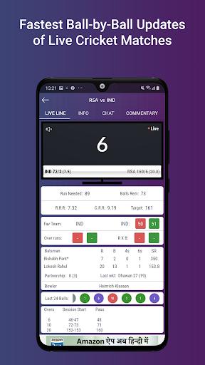Cricket Line Guru : Cricket Live Line android2mod screenshots 4