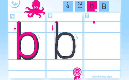 Write the Alphabet for Kids For PC Windows (7, 8, 10, 10X) & Mac Computer Image Number- 7