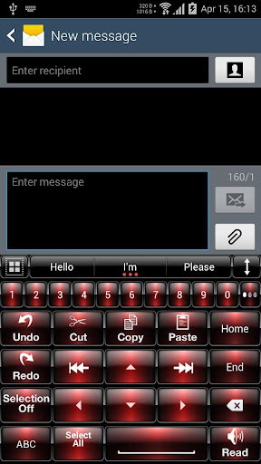 Theme for A.I.type Dusk Red א For PC Windows (7, 8, 10, 10X) & Mac Computer Image Number- 10