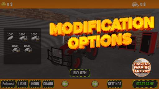 Tractor Simulator Farm Game 2021 New Free  screenshots 1