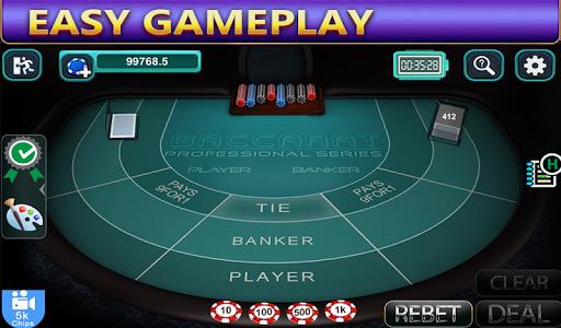 baccarat - win your bets at casino screenshot 3