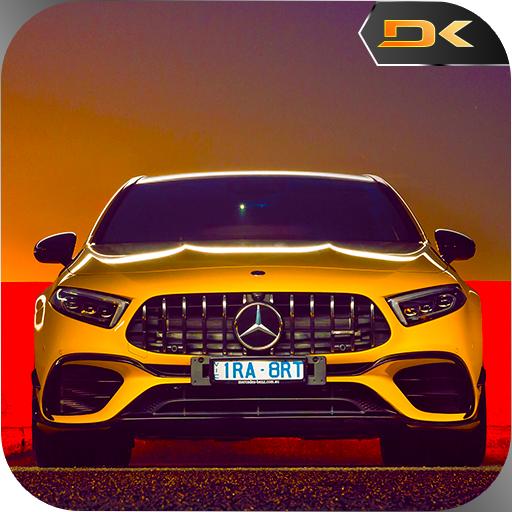 Benz A45: Crazy City Drift, Drive and Stunts