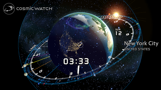 COSMIC WATCH: Time and Space Screenshot