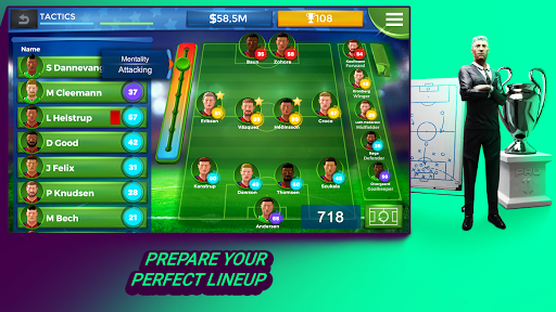 Pro 11 - Football Management Game 1.0.74 screenshots 2