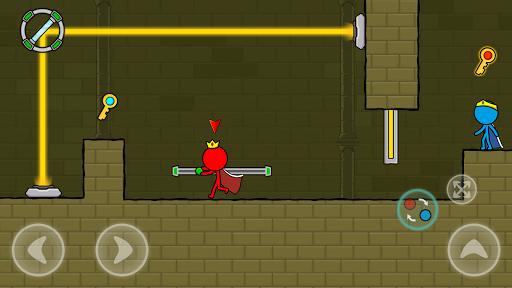 Red and Blue Stickman : Animation Parkour 1.0.6 screenshots 8