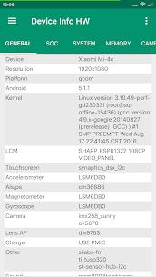 Device Info HW 1