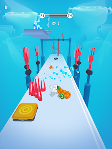 Pixel Rush Mod Apk- Epic Obstacle Course Game (Free Upgrade) 9