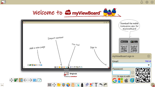 myViewBoard Whiteboard - Your Digital Whiteboard android2mod screenshots 1