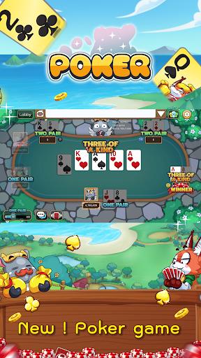 Dummy & Toon Poker Texas Online Card Game 3.3.608 screenshots 1