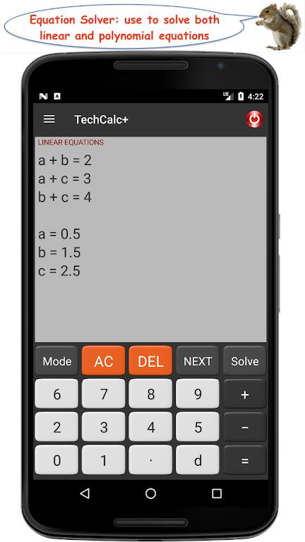 TechCalc+ Scientific Calculator (adfree)  poster 5