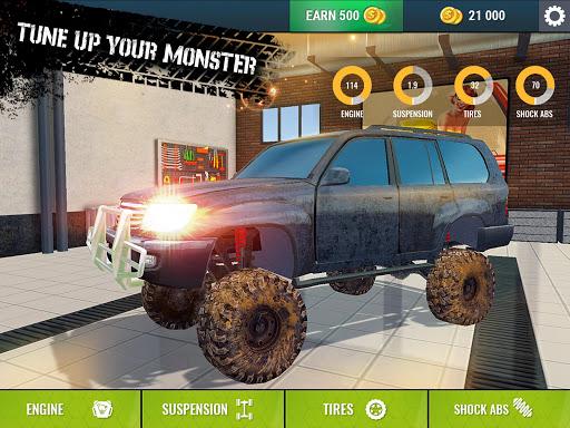 Offroad Driving Simulator 4x4: Trucks & SUV Trophy  Screenshots 11