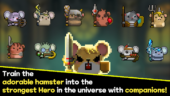 Hamster Hero & The Tower of Magic - Idle RPG