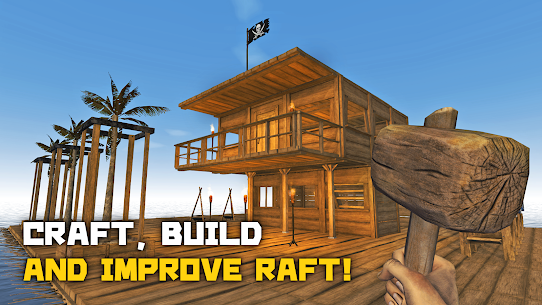 Survival and Craft: Crafting In The Ocean MOD (MOD MENU) 1