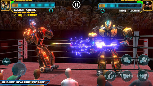 Real Robot Ring Boxing screenshots 12